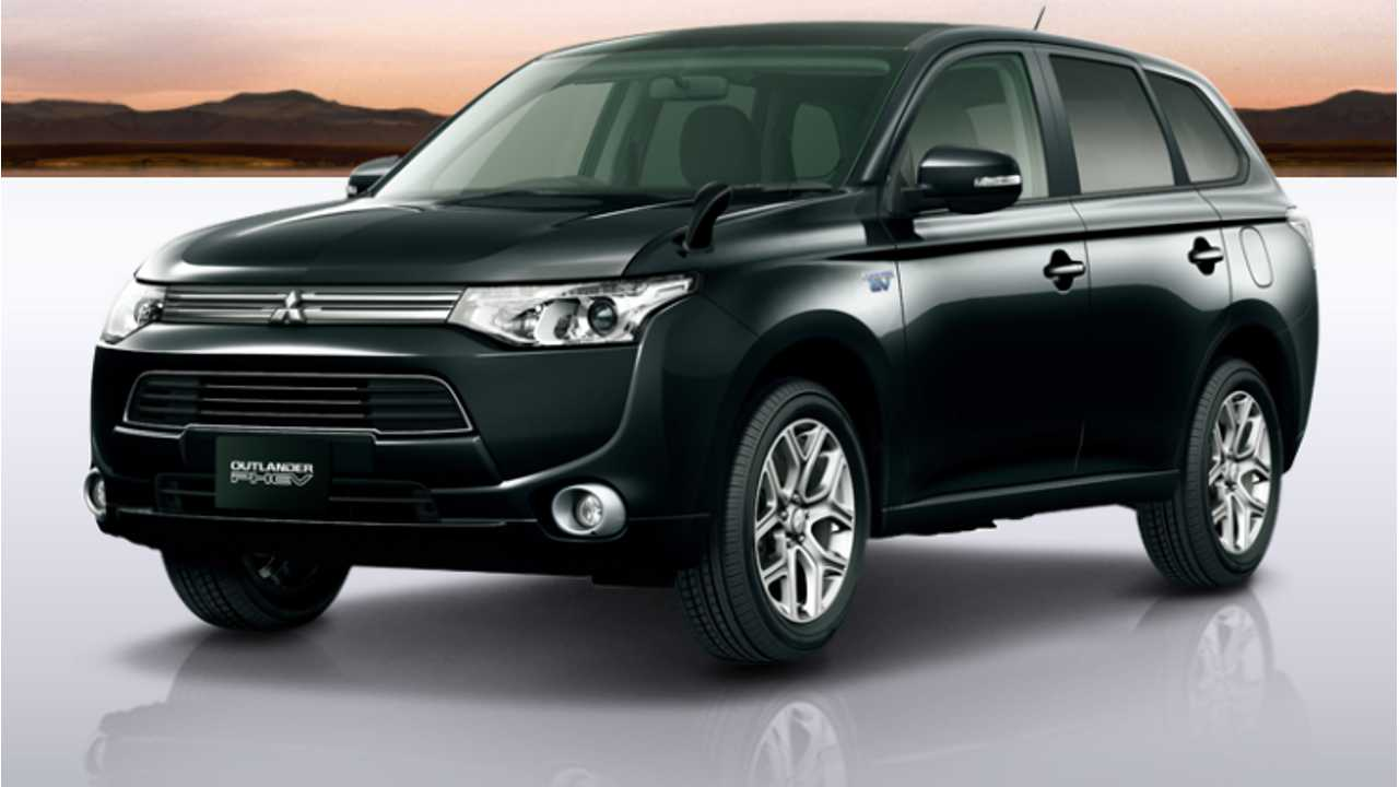 Mitsubishi Has Received Orders For Over 7,500 Of Their Outlander PHEV