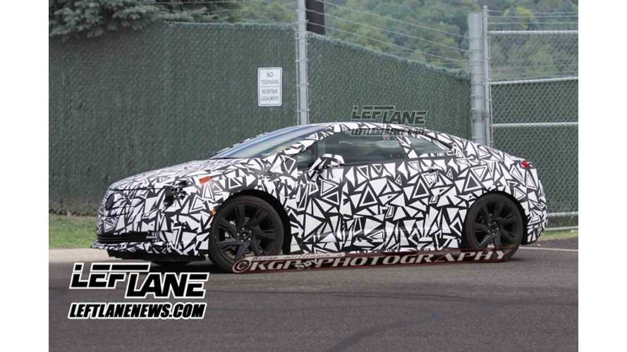 New Spy Shots Of Cadillac ELR Surface