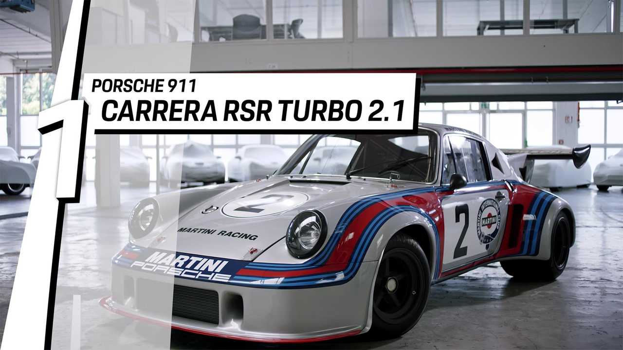 1. Porsche 911 Carrera RSR Turbo 2.1