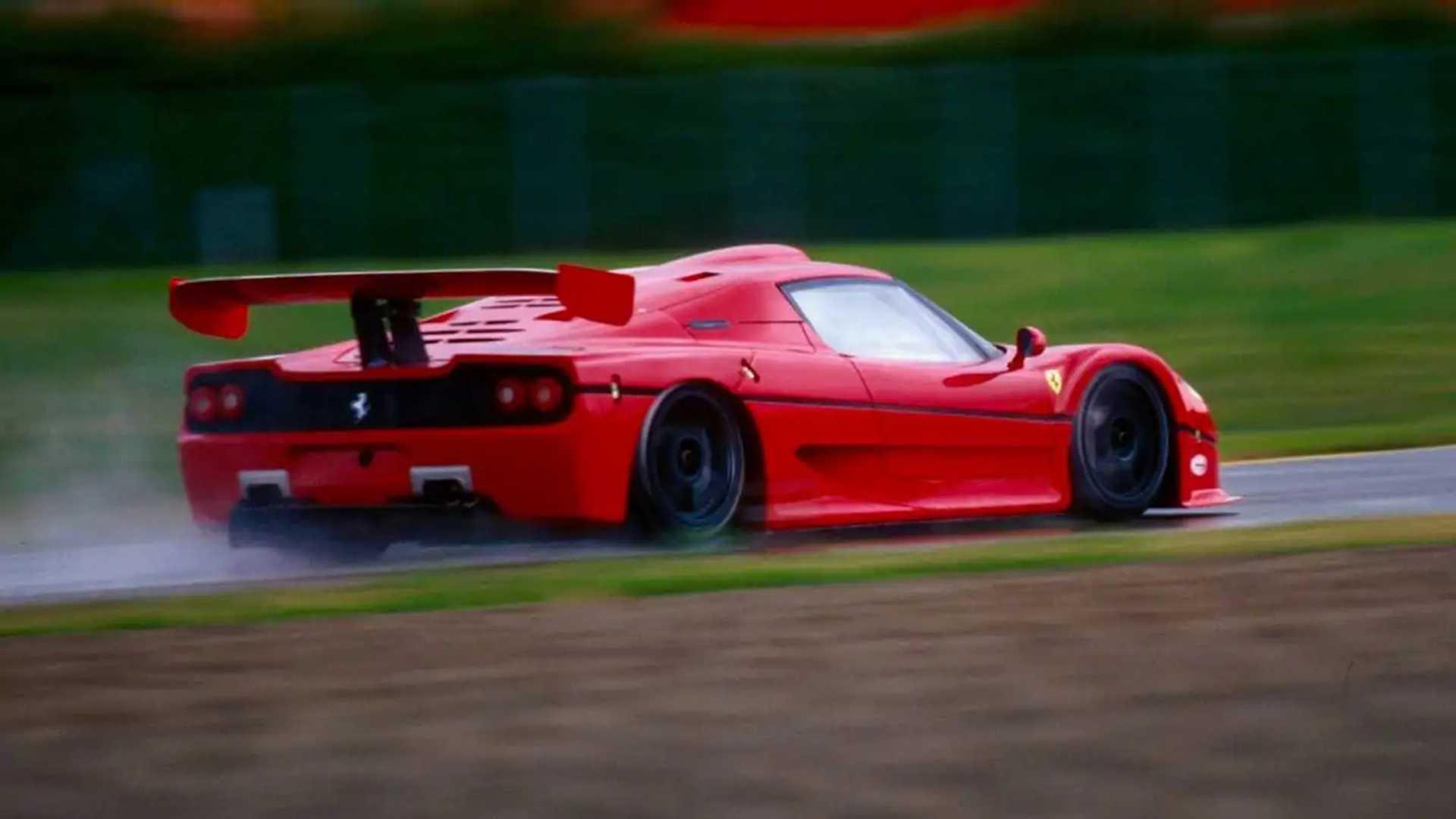 """[""""Ferrari F50 GT LAT Images""""]"""