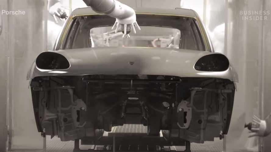 Watch Robots Assemble Porsche Panamera And Macan In Leipzig