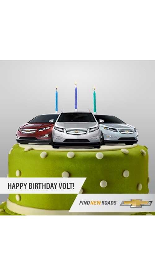 Chevrolet Volt Turns Three!