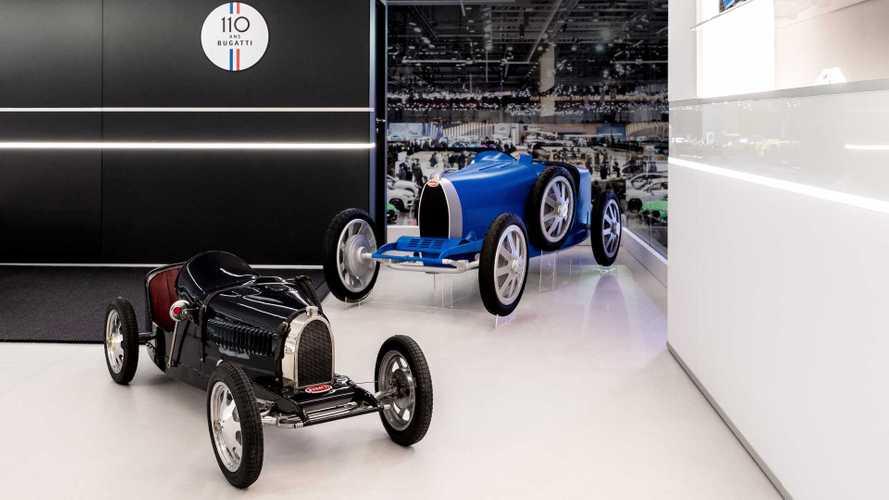 La Bugatti la moins chère coûte 30'000 euros HT