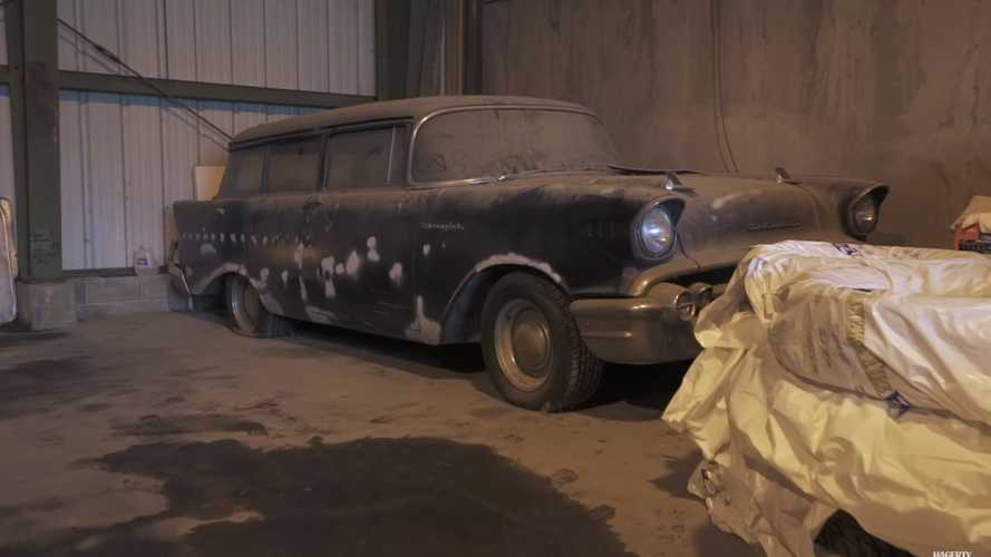 Government Special Order '57 Chevy Discovered in Alaska