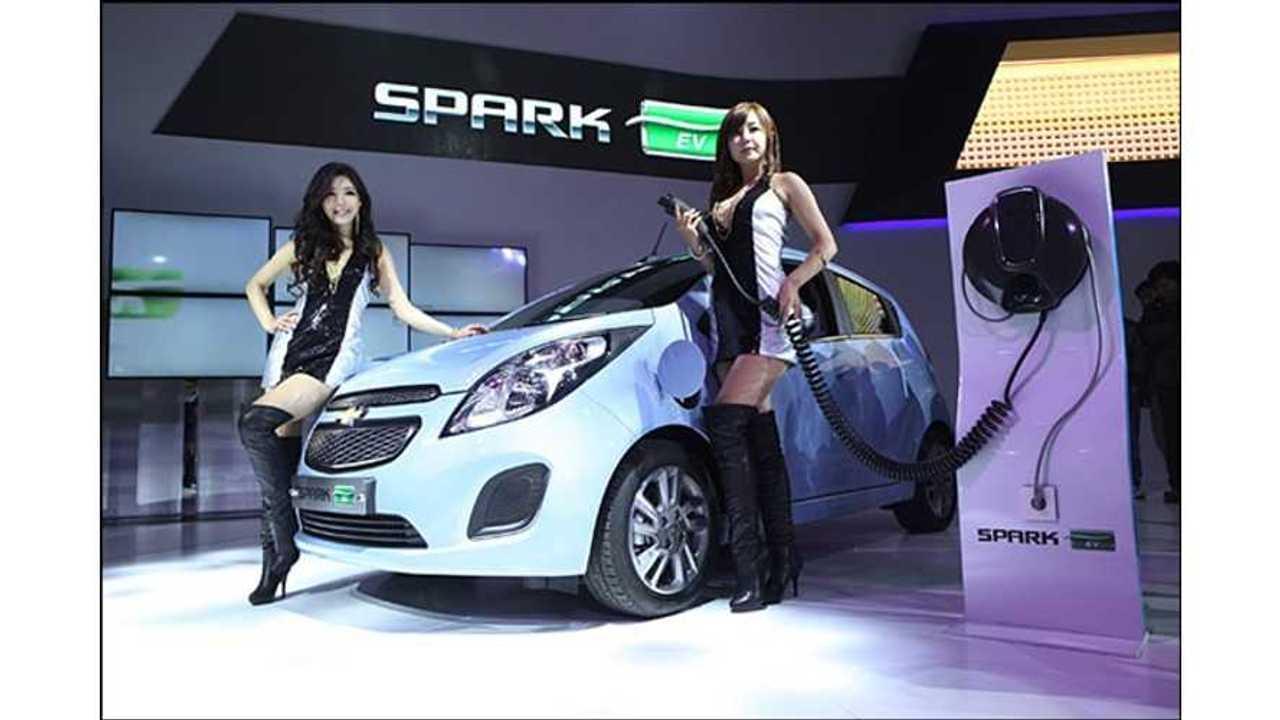 spark ev to korea (gm photo)