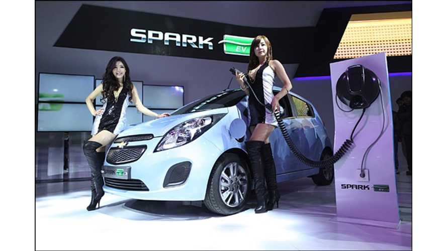 GM Defers Launch of Chevy Spark EV in Europe