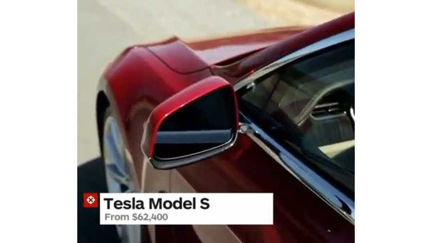 Video: IGN Lists Tesla Model S on Early Adopter Holiday Gift Guide 2013