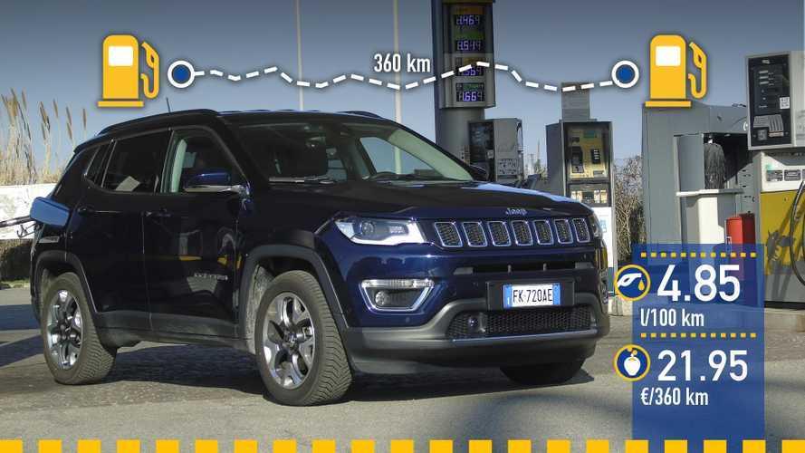 Jeep Compass 1.6 Multijet II 2019: prueba de consumo real
