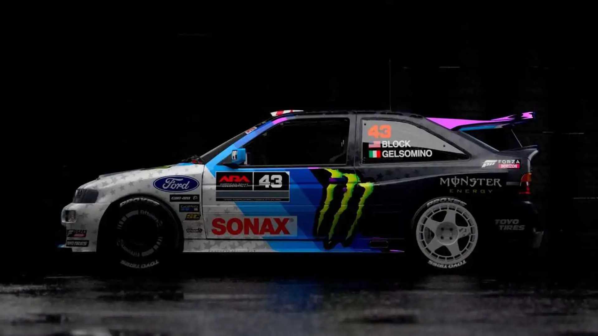 Ken Block's New Escort Cosworth Rally Car Is Retrolicious