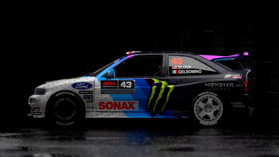Ken Block új Escort Cosworth-ja