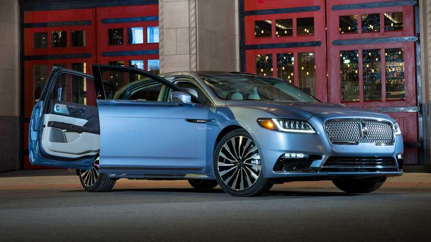 Lincoln Offering $5,000 Rebate On Continental Coach Door Edition