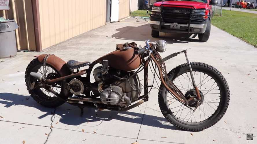 Check Out This BMW Rat Rod Custom Build