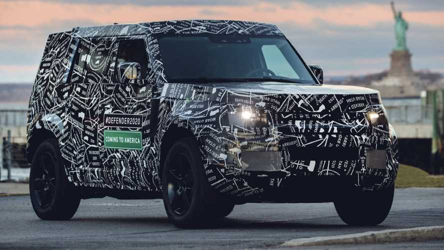 Land Rover Defender 2019, aquí tienes las primeras imágenes oficiales