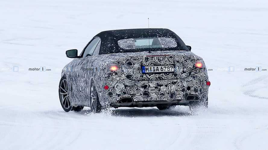 2020 BMW 4 Series Cabrio Spy Photos