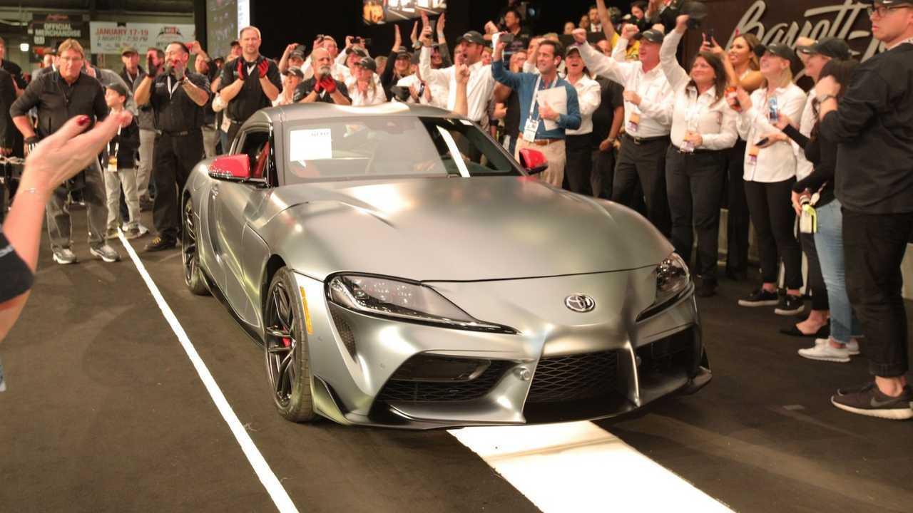 Üretilen ilk 2019 Toyota Supra Satıldı