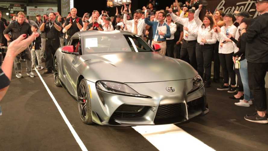 First production 2020 Toyota Supra sold for £1.63M at auction
