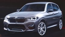 BMW X3 M Spy Shots