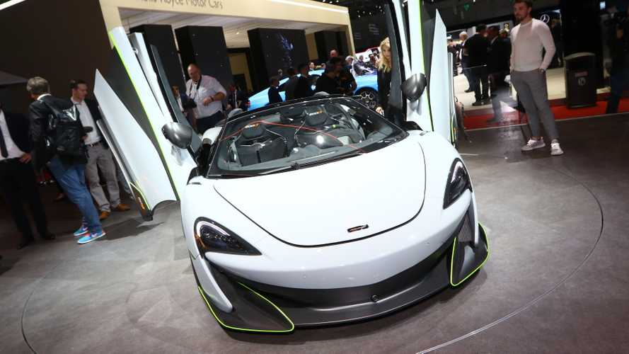 McLaren 600LT Spider MSO revealed with vivid green accents