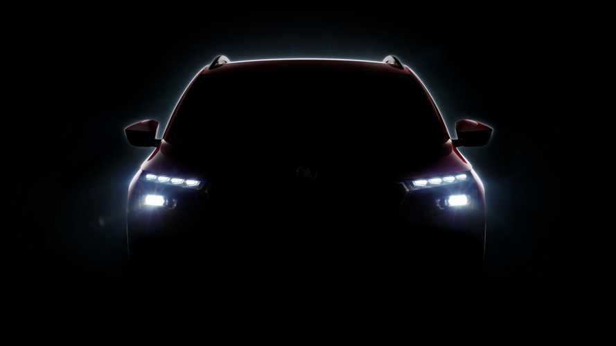 Skoda Vision X Production Version Teased Ahead Of Geneva