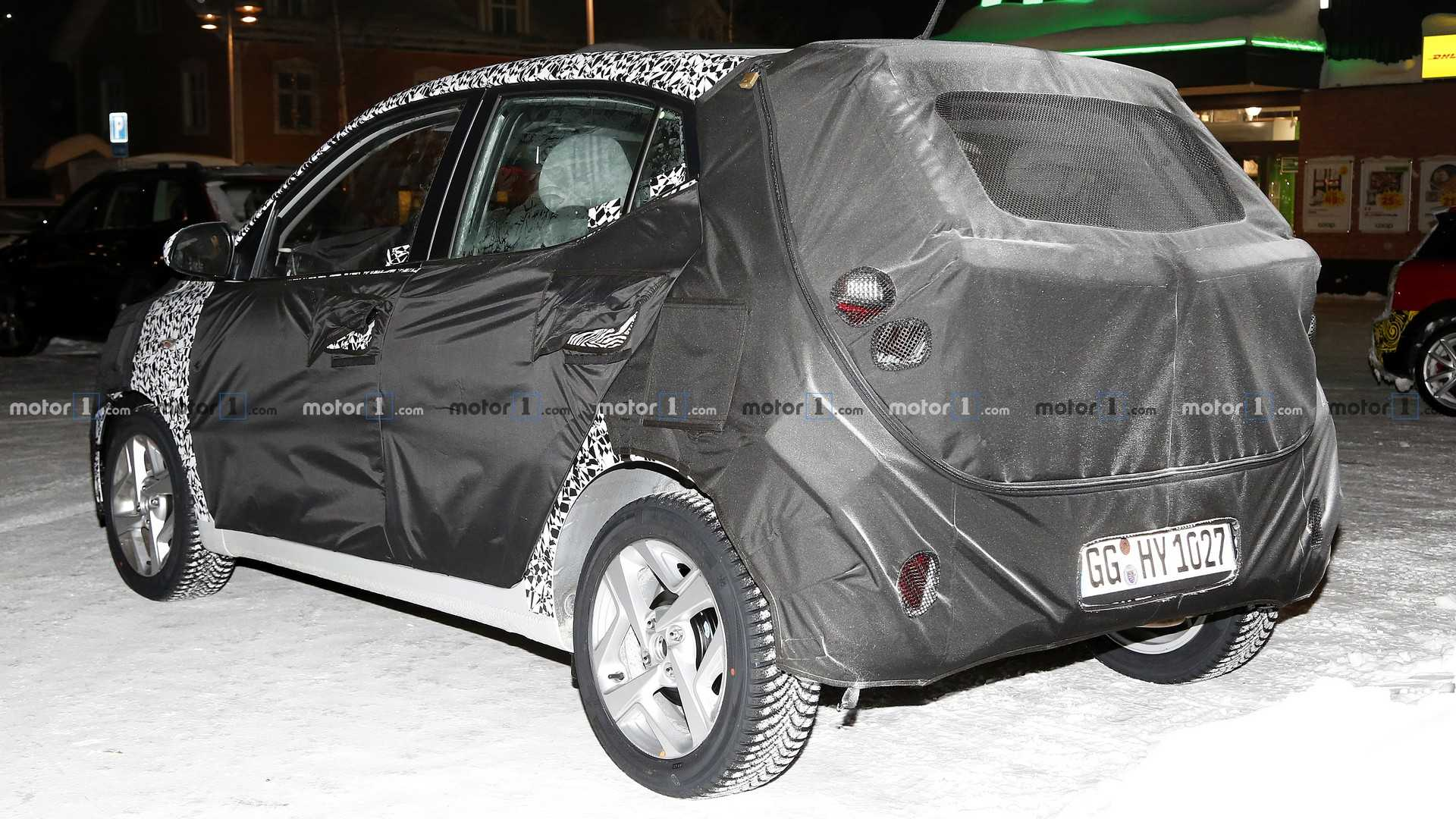 2019 - [Hyundai] I10 2020-hyundai-i10-spy-photo