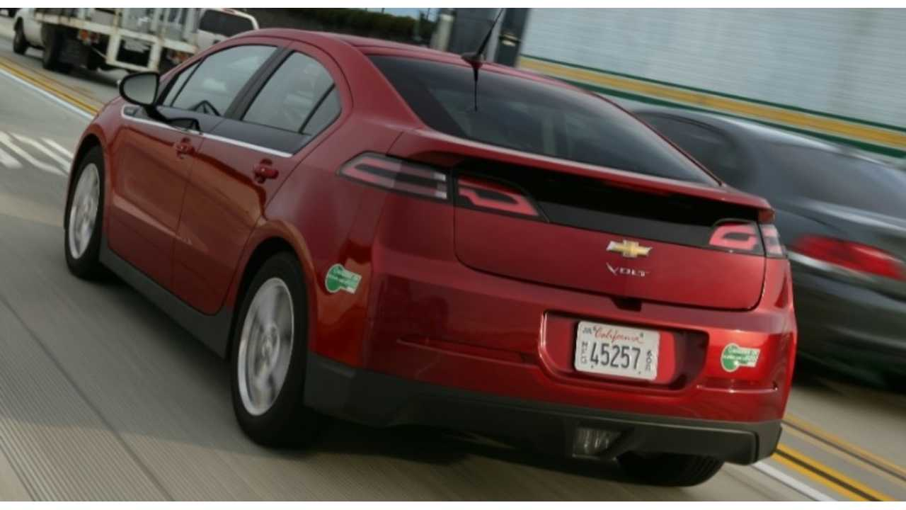 August Best Selling Month Ever For EVs; Chevy Volt To Be First Plug-In To Pass 3,000 Mark