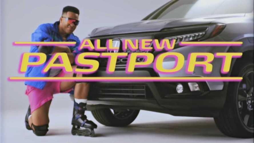 2019 Honda Passport Pastport Is Nostalgia-Fueled April Fool's Joke