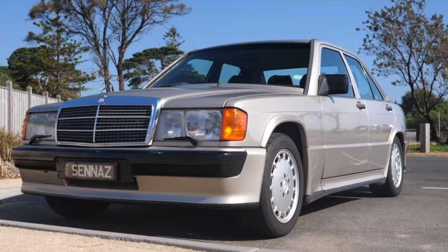 On a retrouvé la Mercedes-Benz 190E 1985 personnelle d'AyrtonSenna