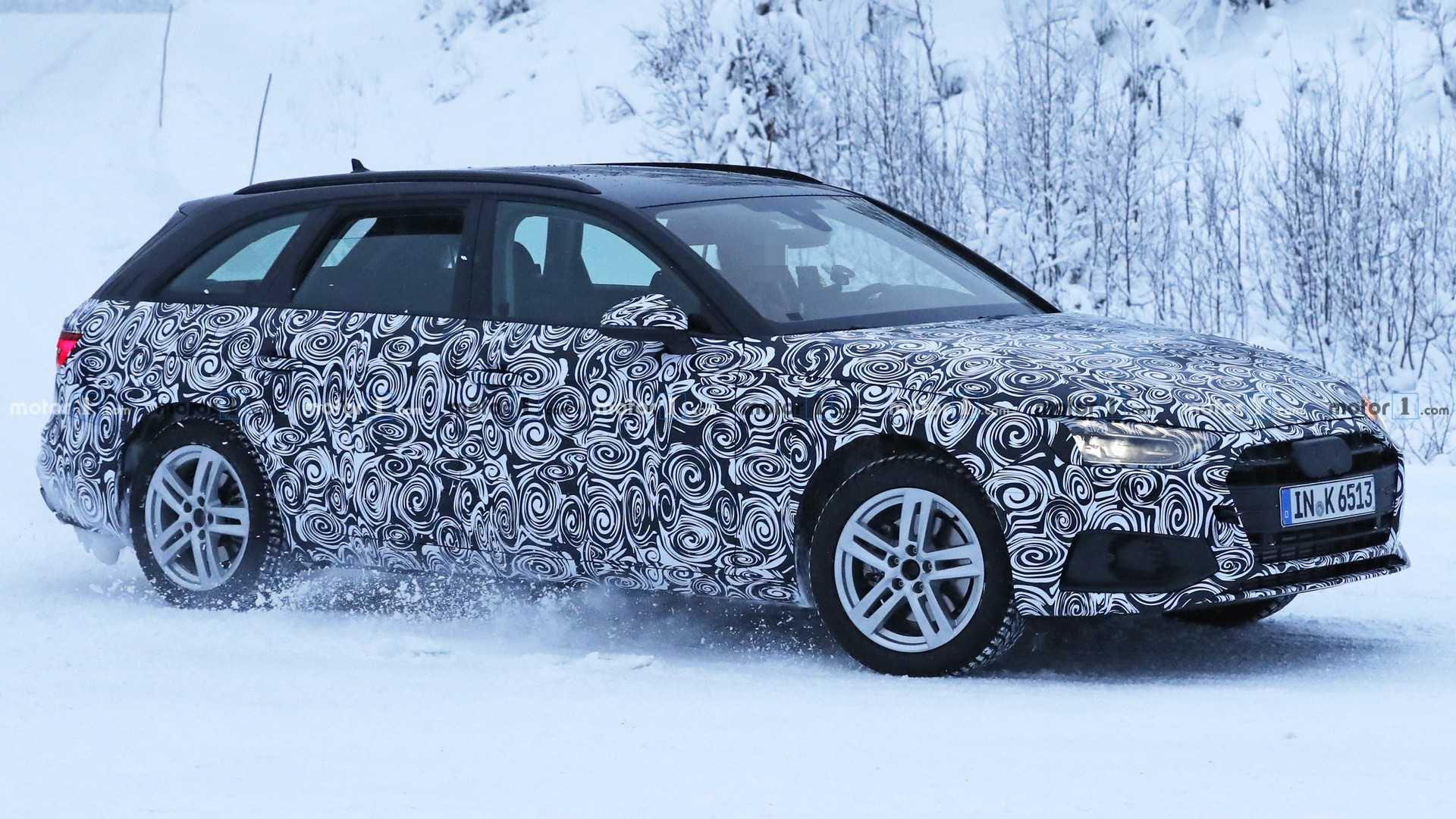 Audi A4 Avant Spied Hiding Major Refresh Update