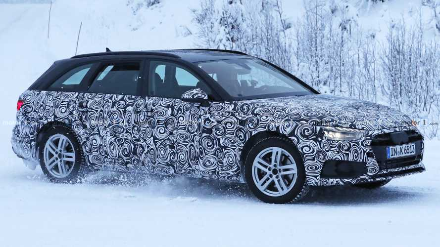 Audi A4 Avant Spied Hiding Major Refresh [UPDATE]