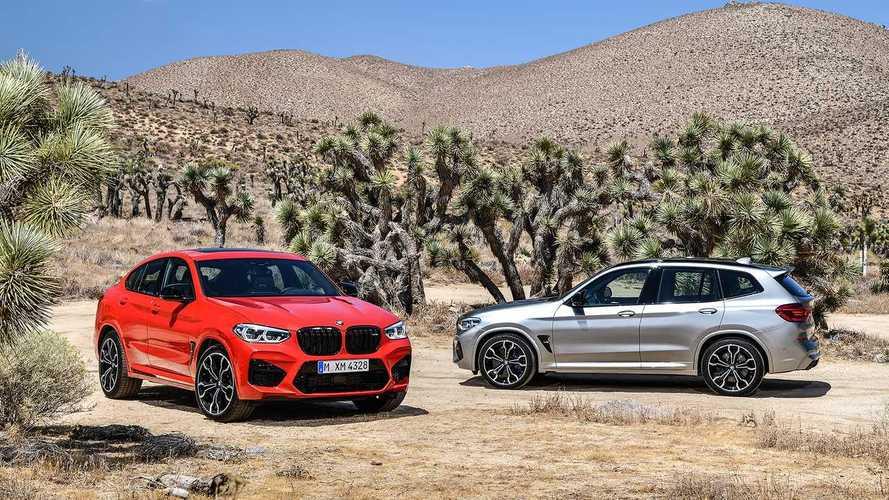 BMW X3 M e X4 M 2019 são lançados com até 510 cv