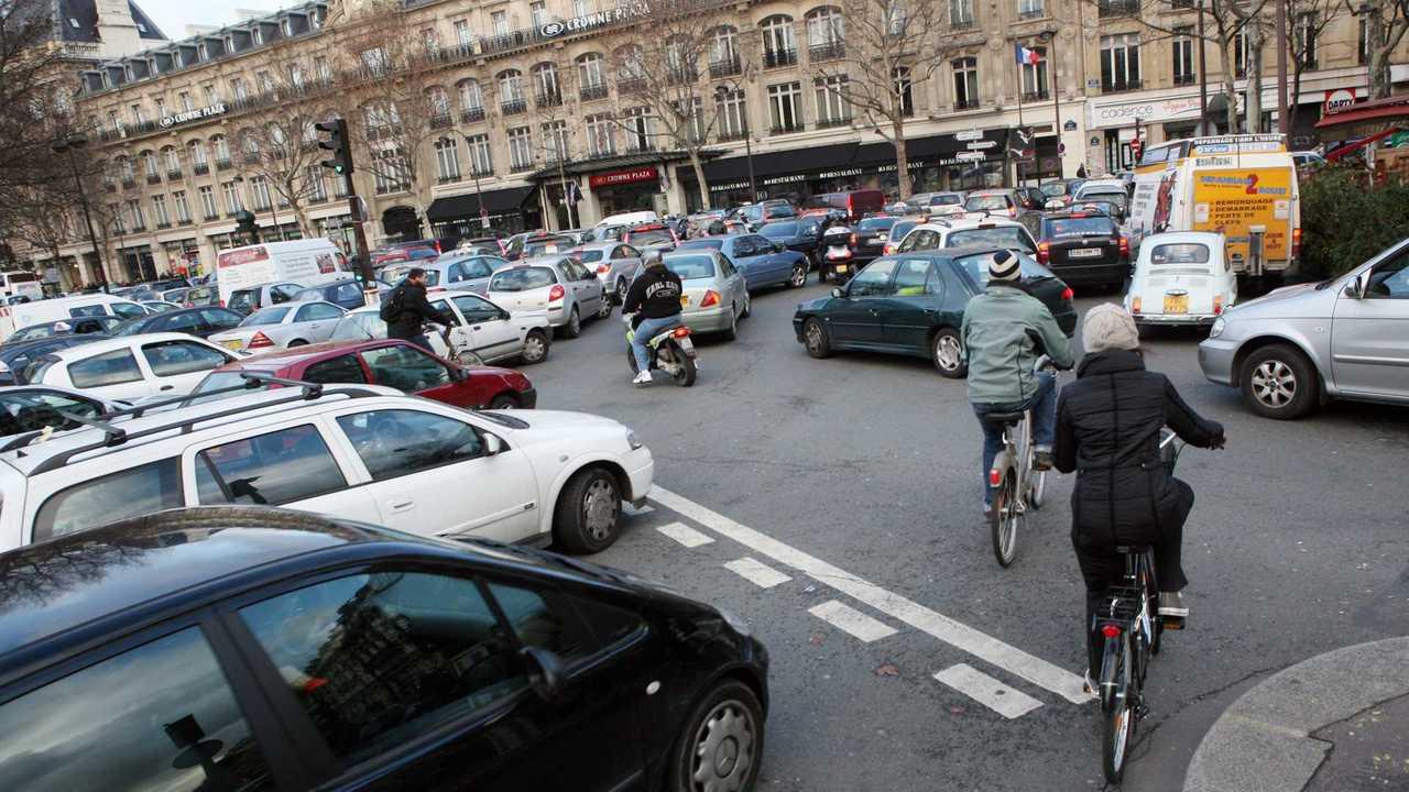 Embouteillage, Paris