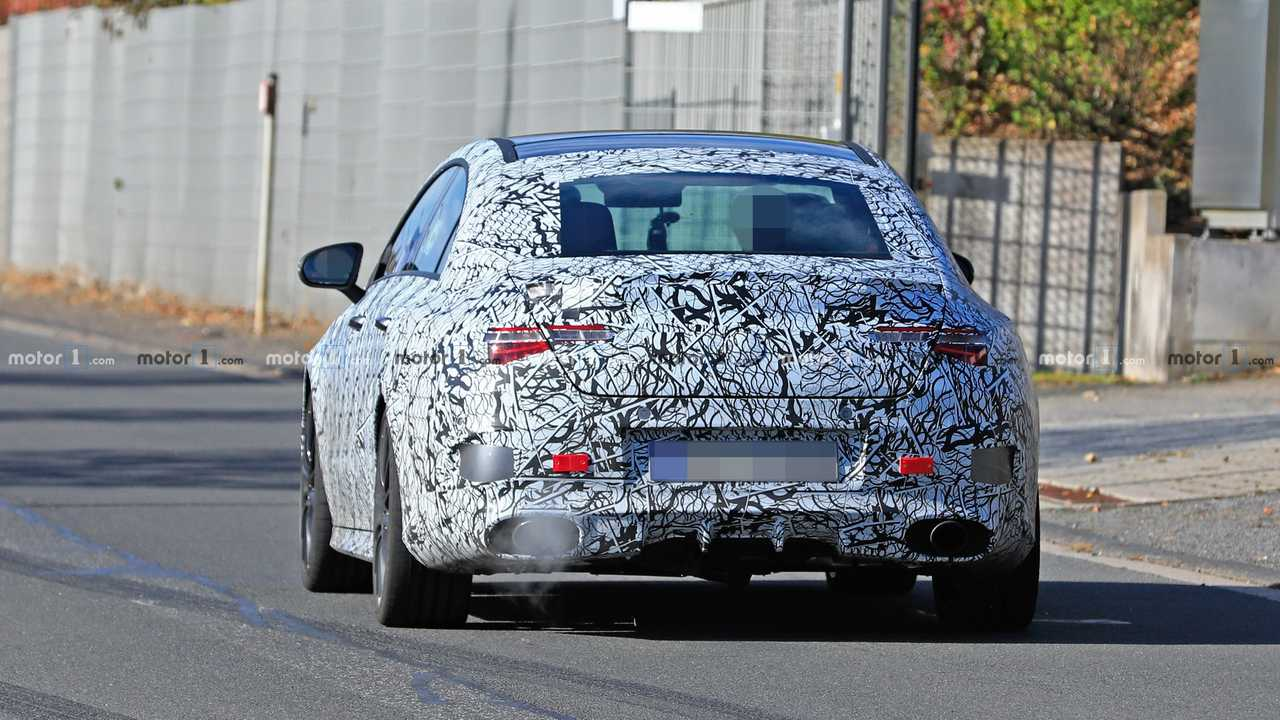 Mercedes-AMG CLA 35, CLA 45 Spied Looking Ready For Production