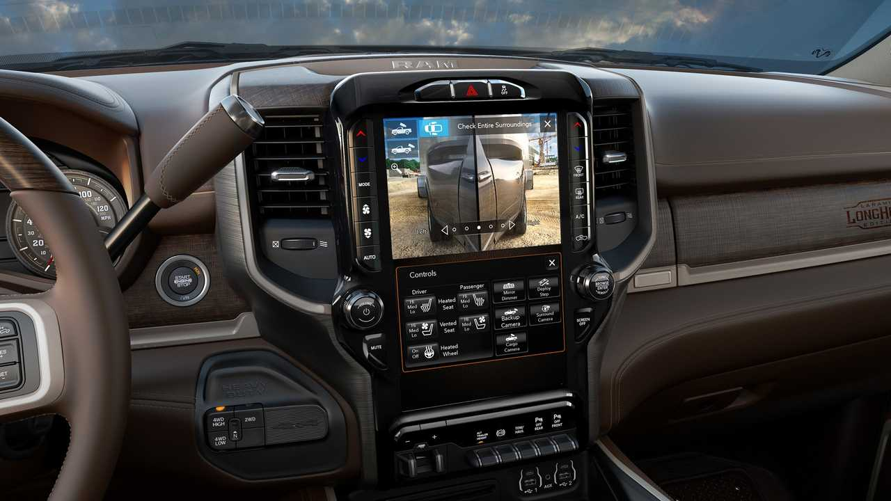 2019 Ram Heavy Duty interior