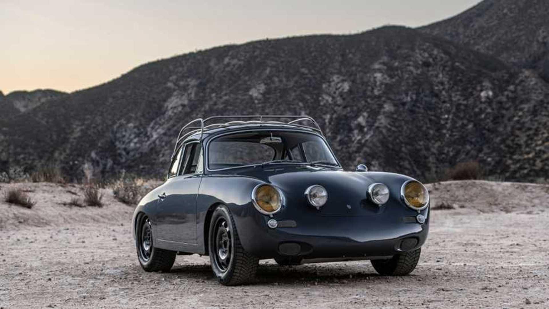 """[""""First Ever All-Wheel Drive Porsche 356 """"C4S\""""""""]"""
