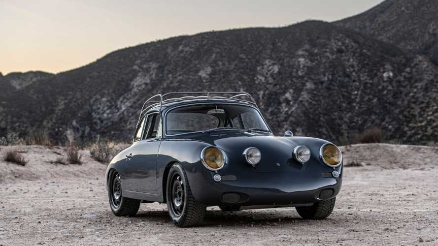 "First Ever All-Wheel-Drive Porsche 356 ""C4S"