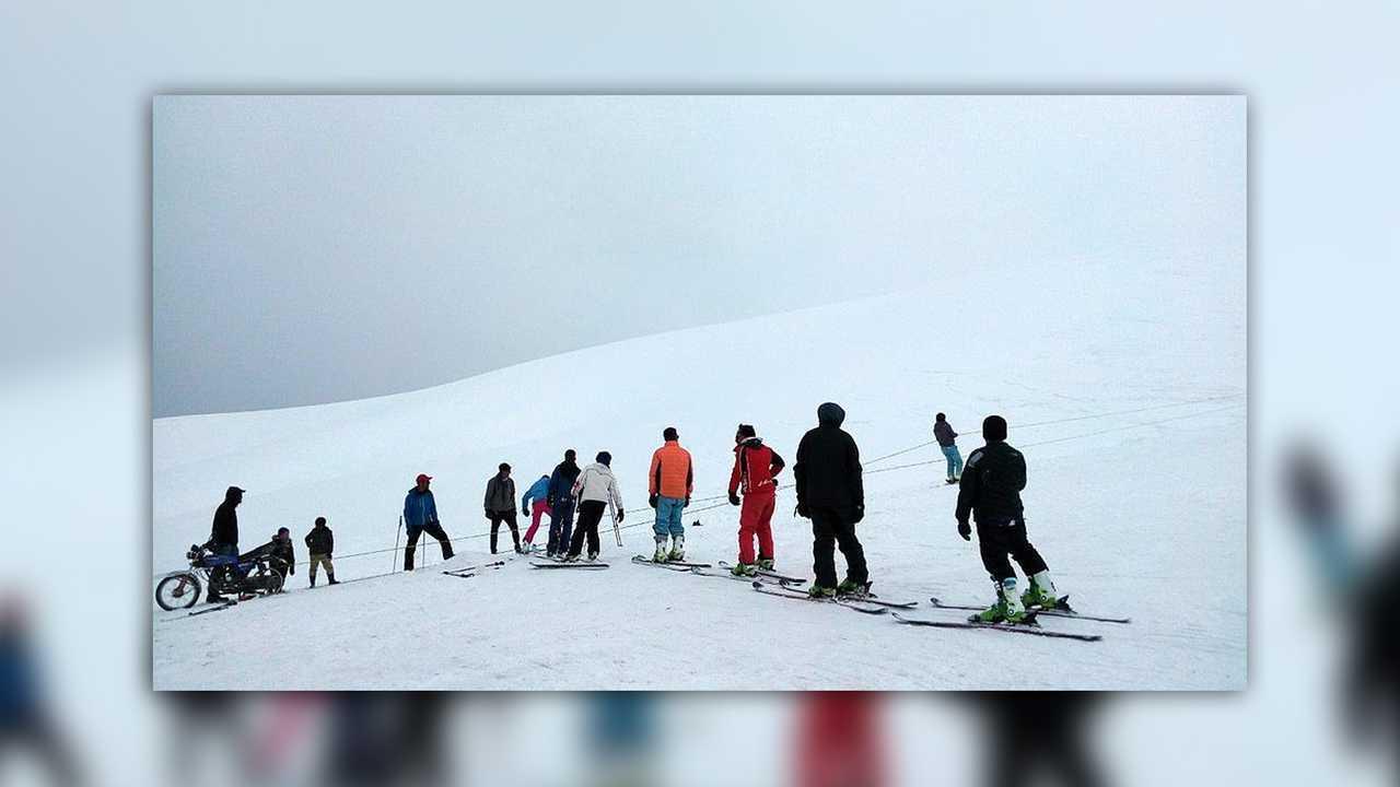 Bamyan Ski Lift