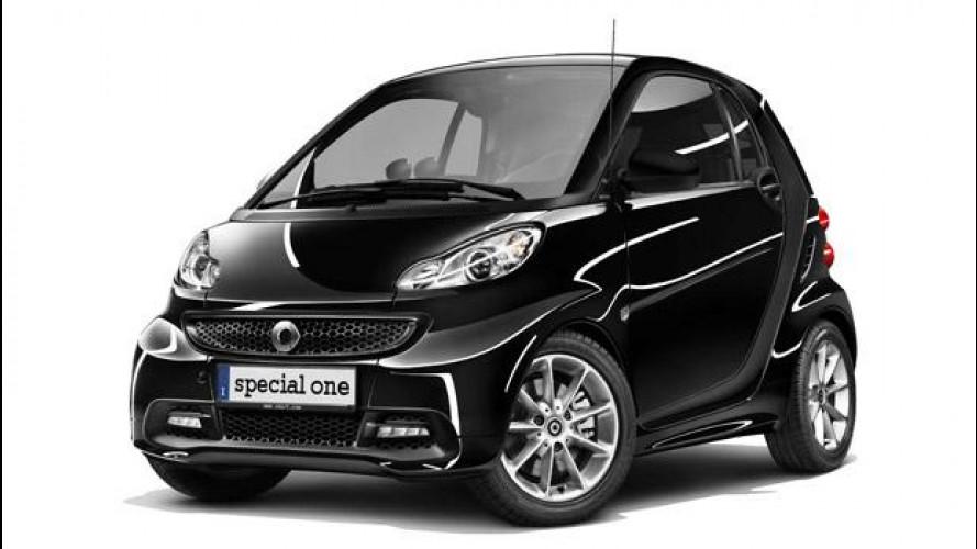 """smart """"special one"""", la limited edition da 9.760 euro"""