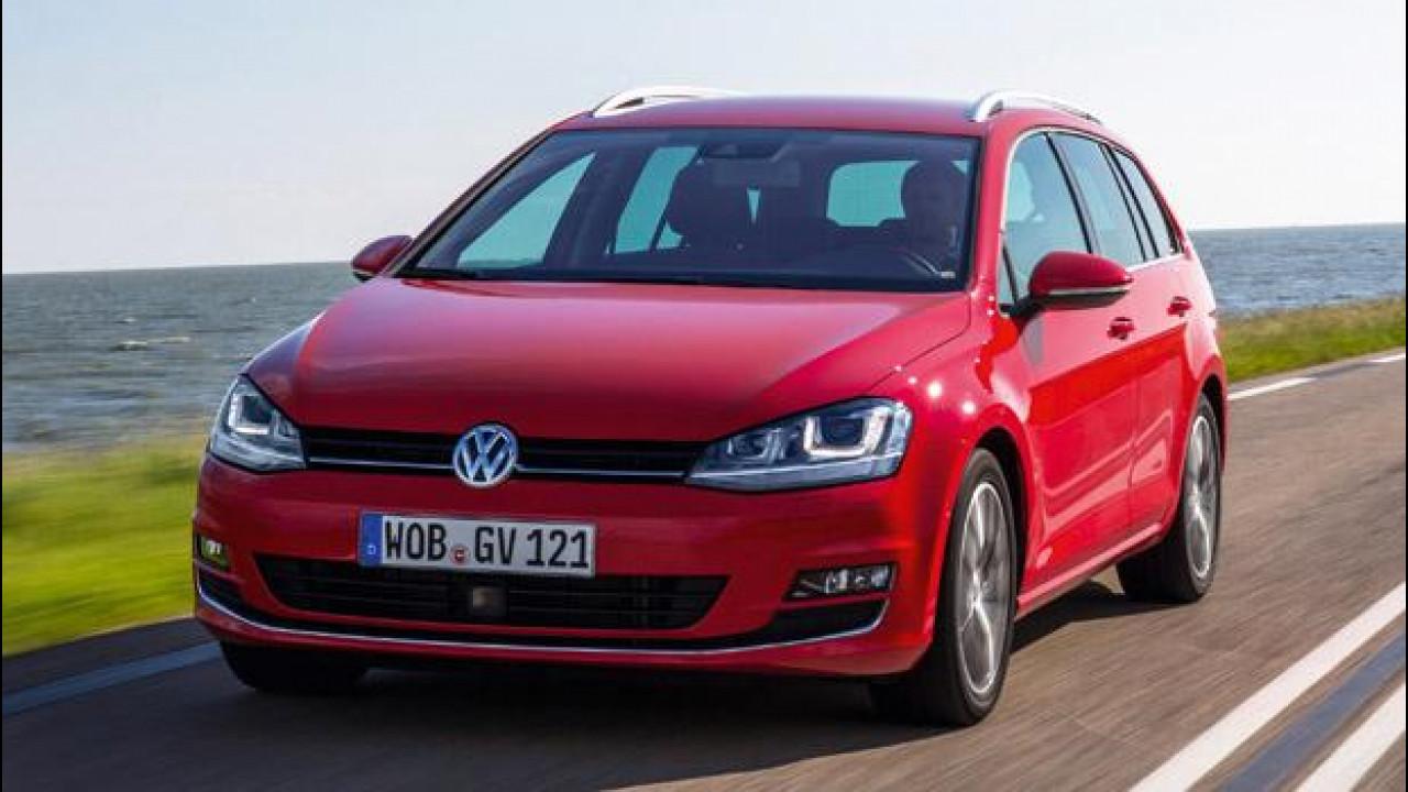 [Copertina] - Nuova Volkswagen Golf Variant, addio brutto anatroccolo