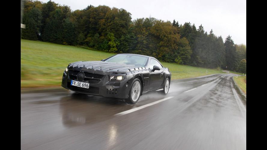 Nuova Mercedes SL, il primo video