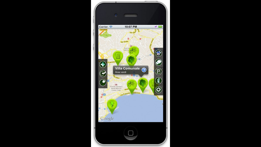 "Renault premia l'app ""Green City"""
