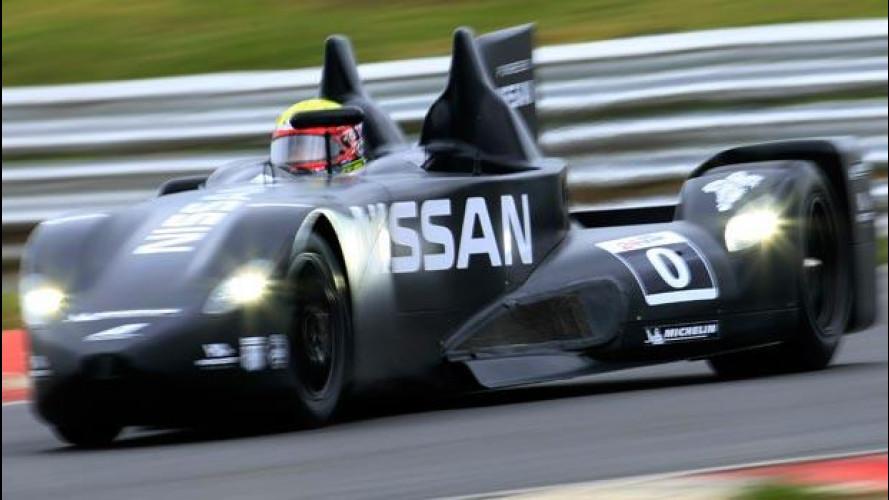 La Nissan DeltaWing verso la 24 Ore di Le Mans