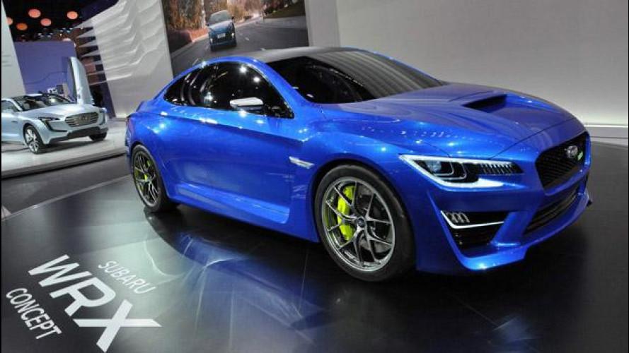 Salone di Francoforte: Subaru Viziv Concept ibrida e WRX Concept