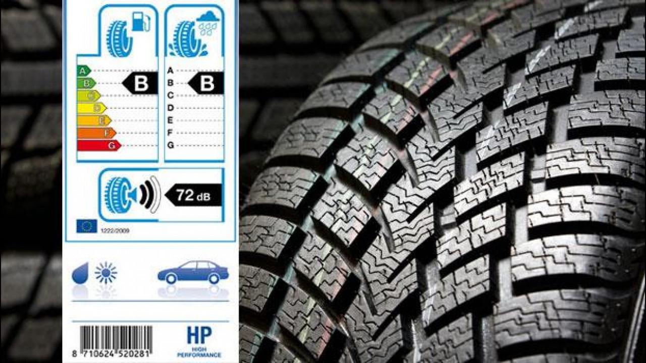 [Copertina] - Etichetta europea degli pneumatici, cosa cambia