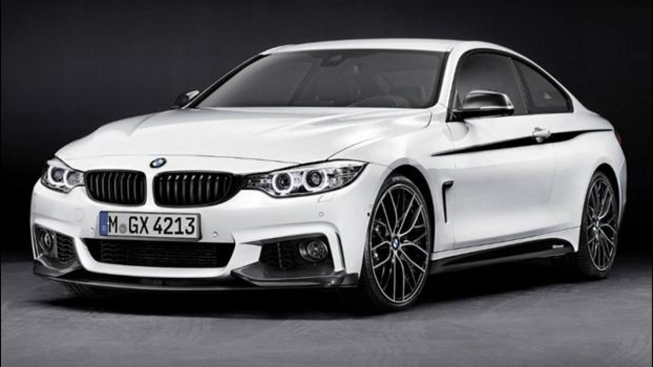 [Copertina] - BMW Serie 4: gli accessori M Performance