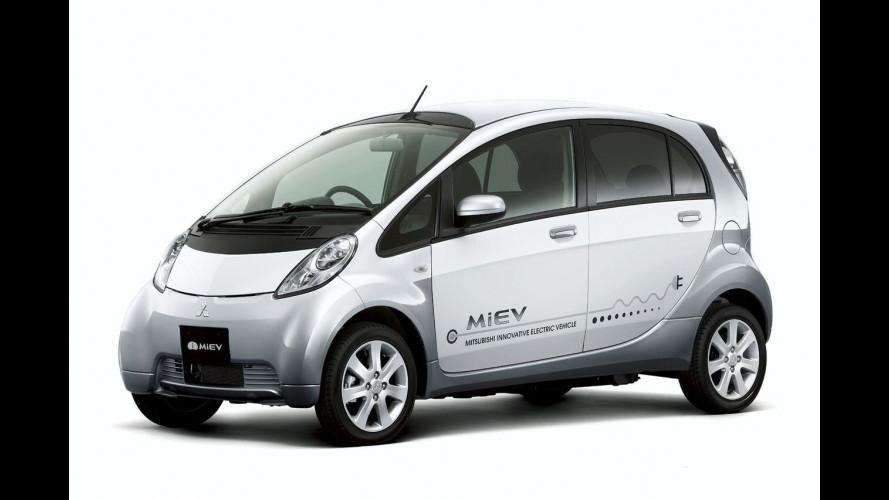 Mitsubishi i-MIEV ad H2Roma 2009