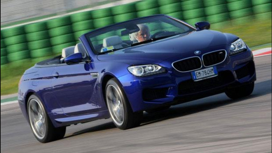 Nuova BMW M6 Cabrio: adrenalina topless