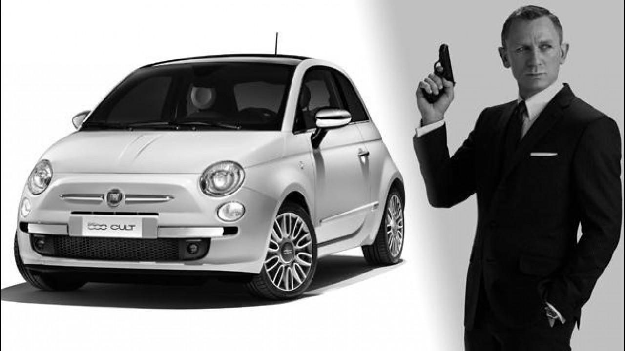 [Copertina] - Fiat 500 è la nuova auto di 007, James Bond