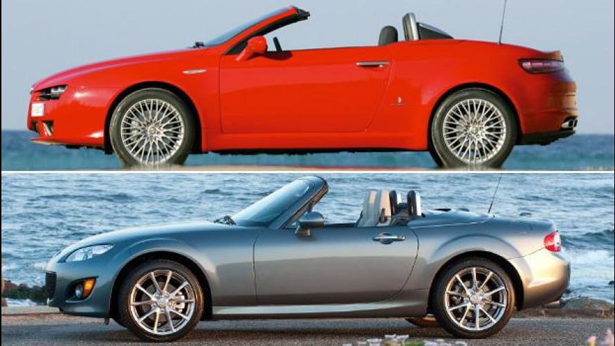 Usato: Spider Alfa Romeo o Mazda?
