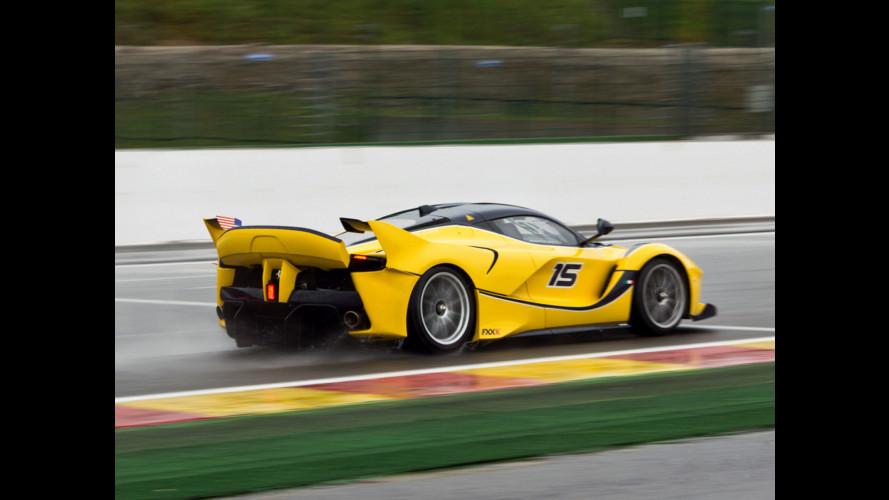 Ferrari FXX K, 1.050 CV da pista