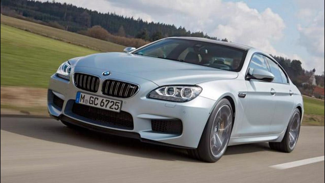 [Copertina] - BMW M6 GranCoupé: salotto per quattro con accelerazioni da dragster